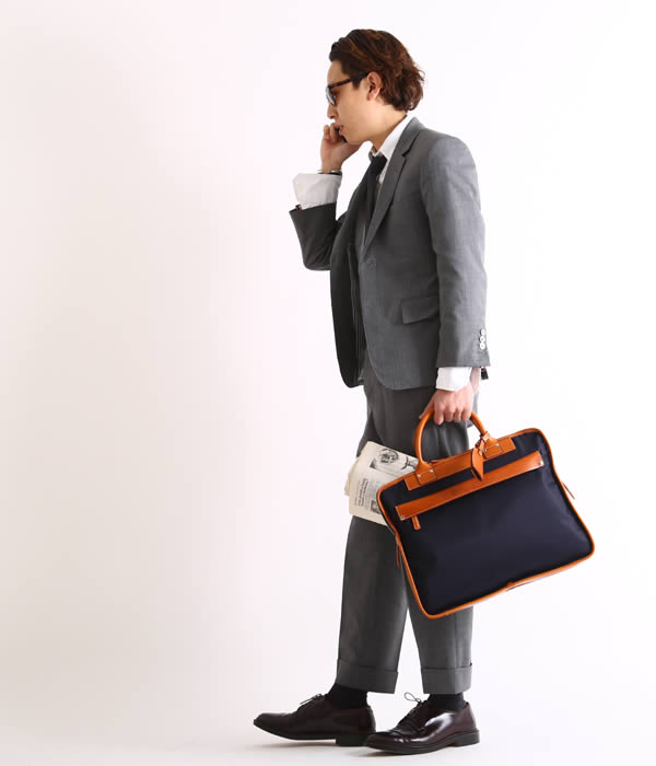 Felisi / フェリージ : ビジネスバッグ DS-ネイビー(ビジネスバッグ ブリーフケース バッグ 鞄) 8637-2-DS-nav 【MUS】【BJB】