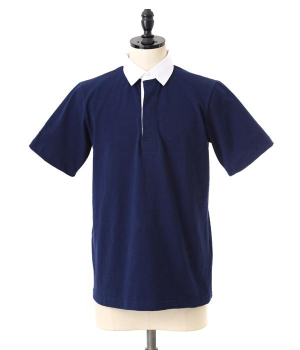 BARBARIAN / バーバリアン : GCSS S/S LSS : ラガーシャツ 半袖 : 1536402-LSS03 【STD】