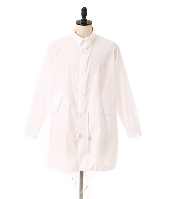 MARKAWARE/雪皮大衣衬衫 (雪连帽衫衬衫外套) A14A 16SH03C