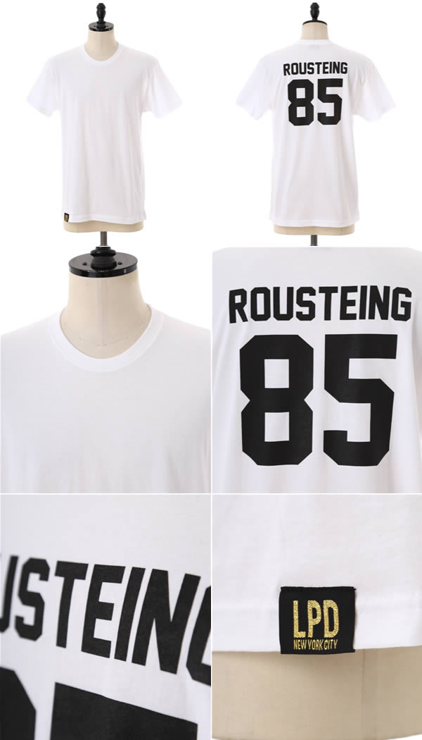 LPD New York(re·puryu·dore)/TEAM ROUSTEING T-SHIRT(orivierusutan BALMAIN OLIVIER ROUSTEING T恤)TEAM-ROUSTEING-T-SHIRT