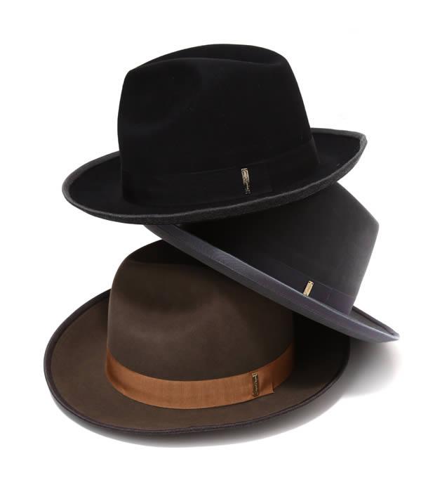 Super Duper HATS / スーパーデューパーハット : STORTO : ラビットファー フェルト ハット 帽子 : STORTO 【RIP】