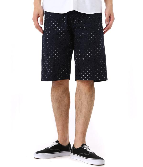 WIP Carhartt I017065-cp Carhartt workimplogress Johnson Short (Copyright Print) (regular Carhartt Johnson shorts fit)