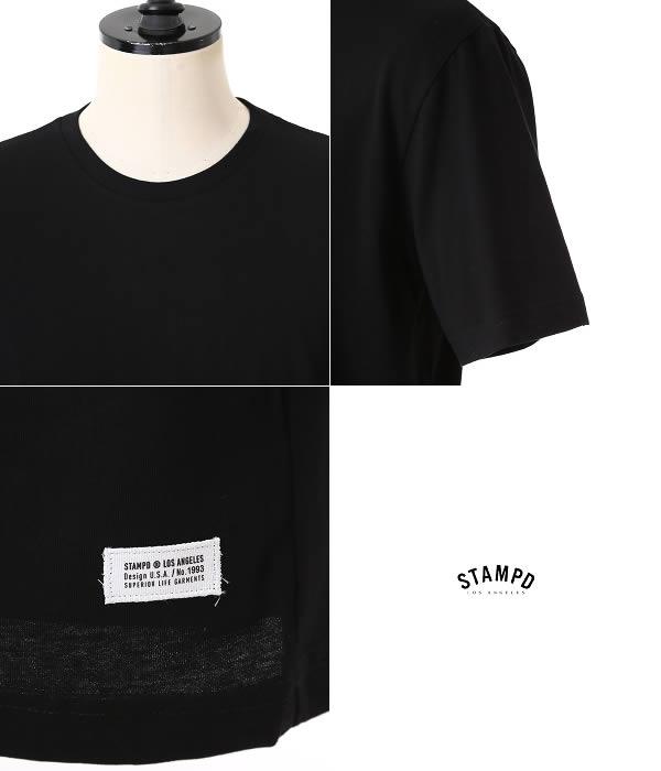 Stampd (stampd) Black Basic Long Tee (the T shirt BIGBANG KANYE STAMPD LA DOPE by STAMPD black basic long WEST) SLA-U290TE-BLK