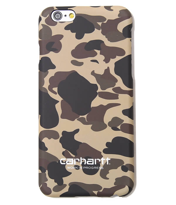 Carhartt WIP [카 하트]/CAMO IPHONE HARDCASE (for iPhone6) (2015-겨울 신작 iPhone6 iPhone 케이스 커버) I020326