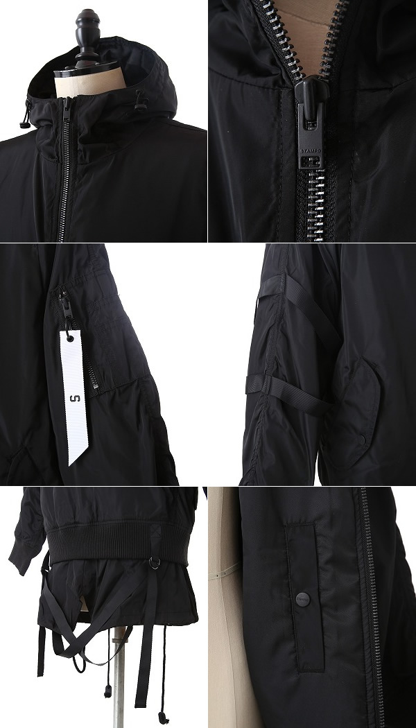 STAMPD (stampd) / Double Layer Bomber (2016 spring summer new double layer bomber outerwear jackets) SLA-M938JK