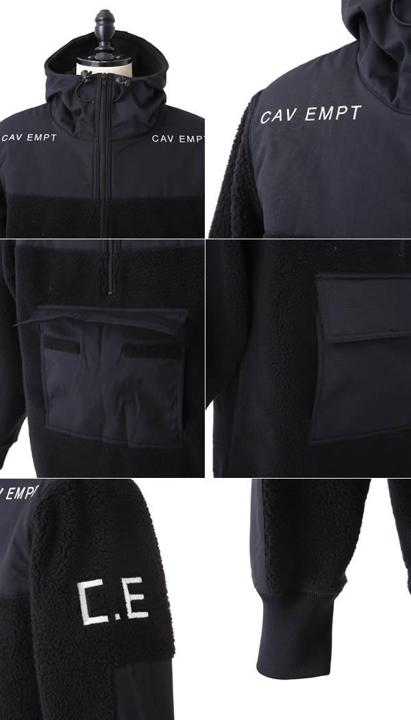 C.E (병이)/PULL OVER LIGHT FLEECE # 4 (2015-겨울 신작 CAV EMPT 양 털 스웨터 후드 나일론) CES8CS18