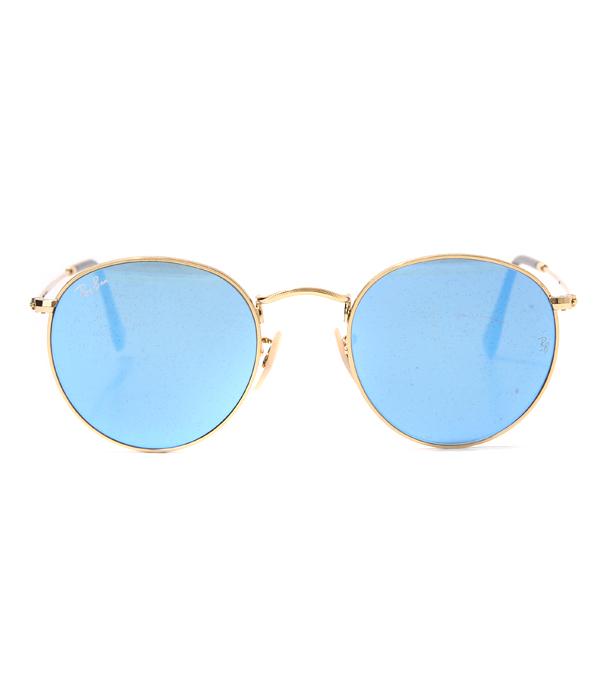 Ray-Ban (レイバン) / ROUND FLAT LENSES (メガネ 眼鏡 ラウンド フラットレンズ サングラス アイウェア) RB3447N-001-90-50【MUS】