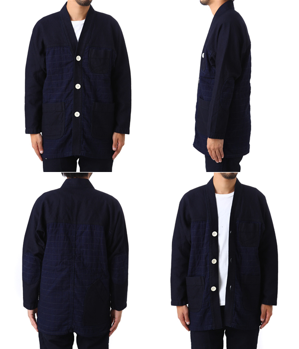 snow peak [Snow Peak] / Noragi Jacket Indigo (Snow Peak jacket) JK-15SU402