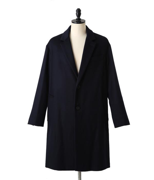 Ami alexandre mattiussi (AMI Alexandre mateucci) / MEN 2 BUTTONS OVERSIZE COAT (coat outerwear jacket wool) H15M0916