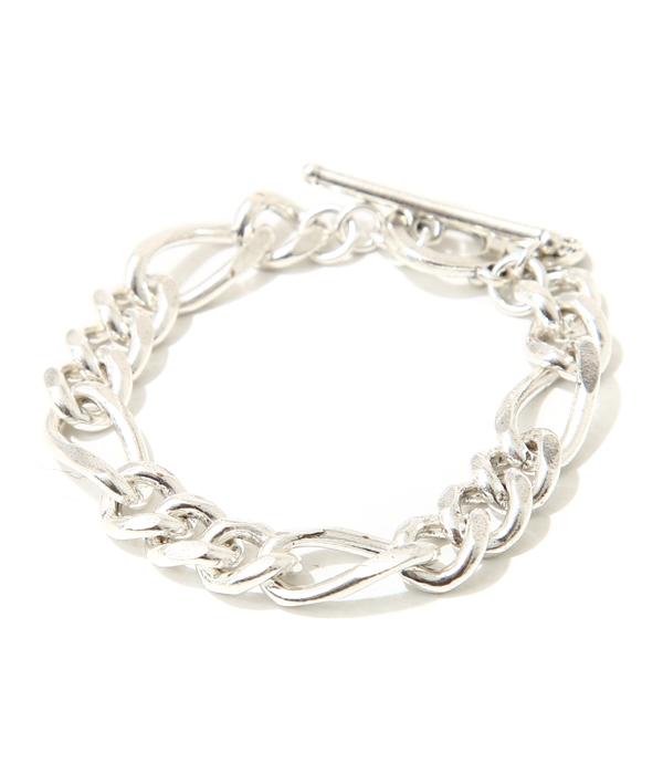 ■【予約商品 2019年6月~7月入荷予定】PHILIPPE AUDIBERT / フィリップオーディベール : Doug chain bracelet : チェーン ブレスレット ブラス シルバー : BRS1431【ANN】
