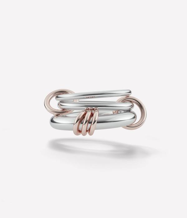 Spinelli Kilcollin / スピネッリキルコリン : Orion-Silver/Rose/Gold- : 3連リング 4way シルバーゴールドローズカラー 指輪 : Orion【ANN】