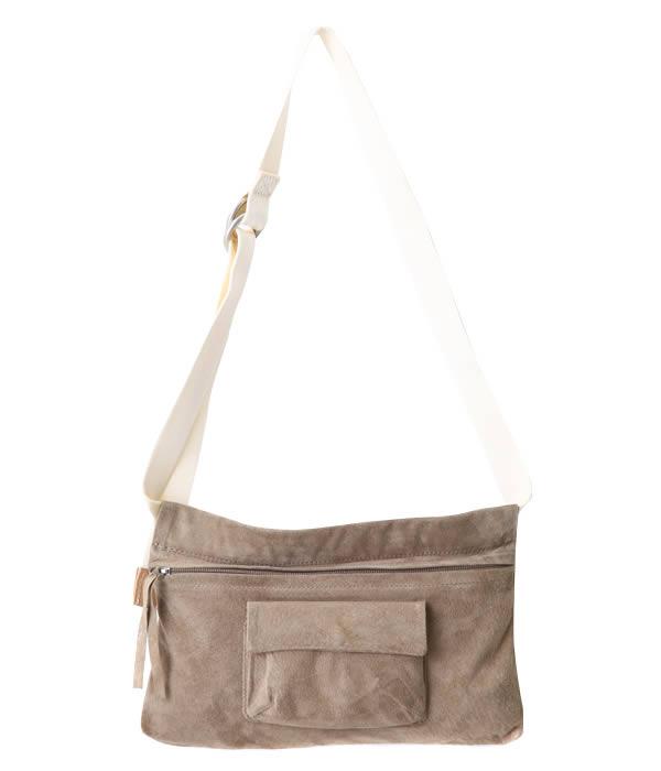 Hender Scheme / エンダースキーマ : waist belt bag wide / 全3色 : ウエスト ベルト バッグ レザー バッグ カバン ポーチ ボディーバッグ : ct-rb-wbw【BJB】