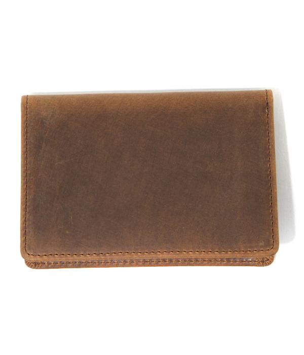 SETTLER / セトラー : NAMECARD CASE OW7412-ブラウン : 名刺入れ カードケース レザー 本革 : OW7412-brw【STD】