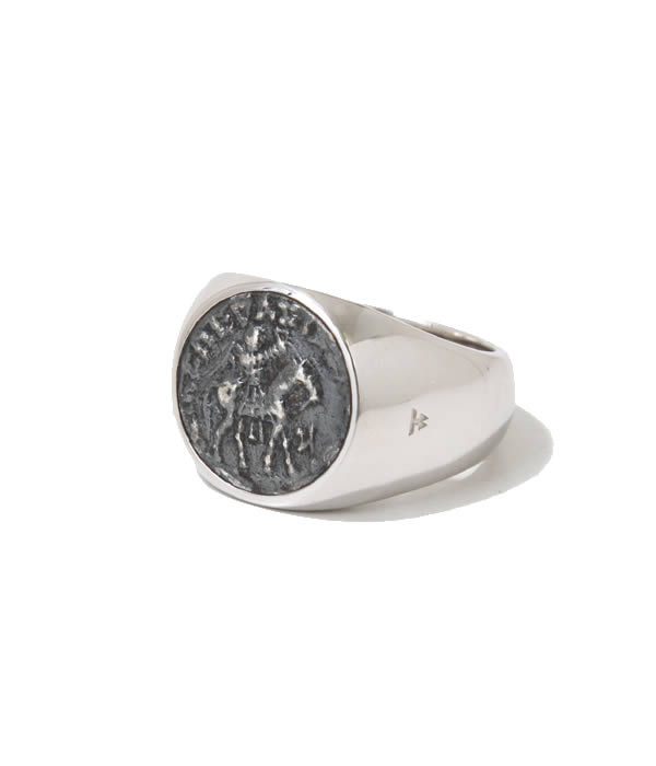 TOMWOOD / トムウッド : Coin Ring (M) : コインリング リング 指環 : R75CM-CO01【RIP】