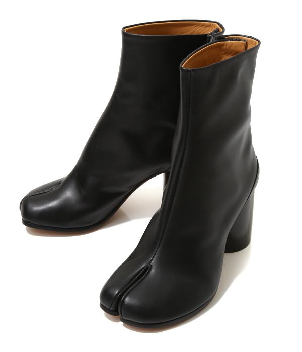 Maison Margiela / メゾン マルジェラ : 【レディース】TABI BOOTS / サイズ約22cm~25cm : タビ ブーツ ショートレザーブーツ ブーティー マルタンマルジェラ : S58WU0161【ANN】