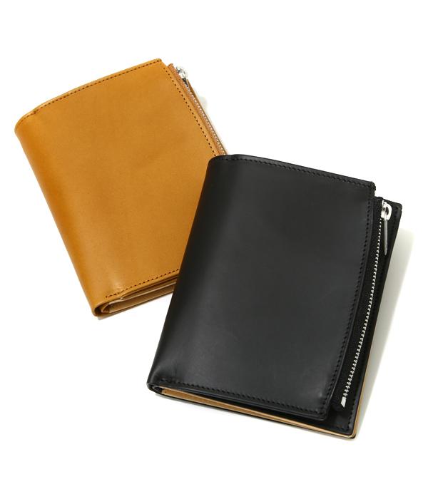Maison Margiela / メゾン マルジェラ : LEATHER WALLET / 全2色 : レザーウォレット 財布 革財布 2つ折りウォレット カーフレザー マルタンマルジェラ : S55UI0143【RIP】