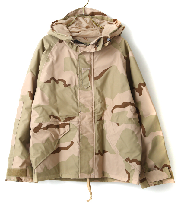 VINTAGE / ヴィンテージ : 【DEAD STOCK】3COLOR DESART CAMO GORE-TEX PARKA : ゴアテックス デザートカモ ミリタリー ECWCS ヴィンテージ デッドストック アメリカ USA : ALG-1707-JK03【AST】【VIN】
