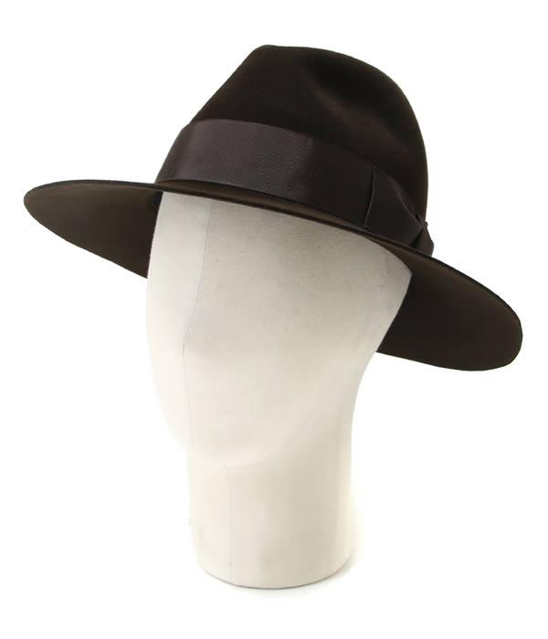 KIJIMA TAKAYUKI / キジマ タカユキ COEUR クール : RABBIT HAT -BROWN- / : ラビットハット ハット 帽子 : 162701-20【RIP】