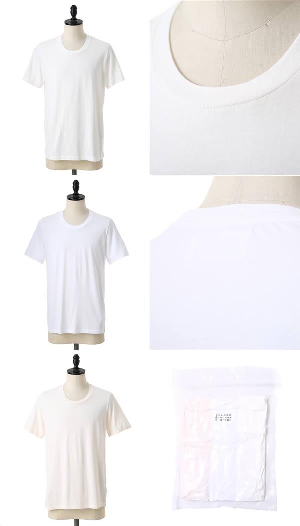 Maison Margiela(메존마르제라) / Pack Tee-화이트(팍크티캇트소 T셔츠 반소매) S50GC0403-WHT