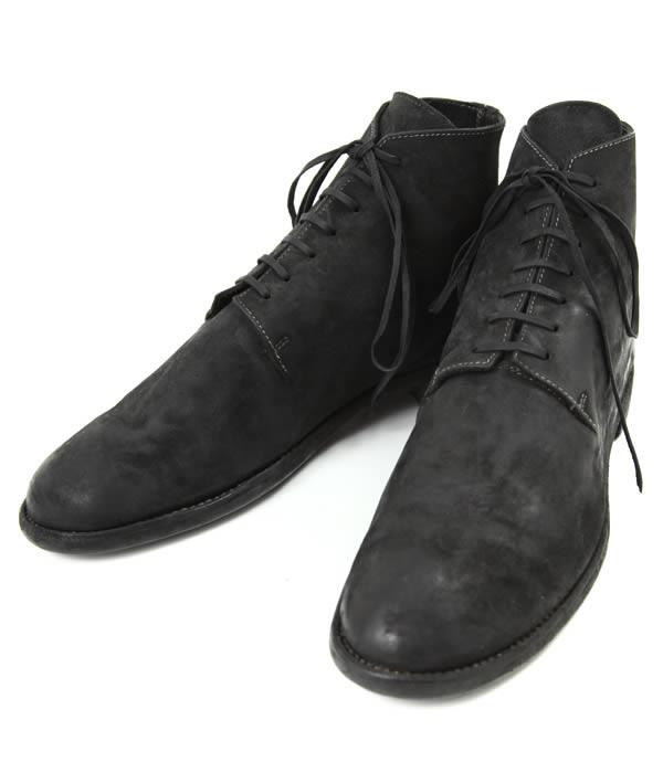 GUIDI / グイディ : NEW MIDLACE BOOTS : guidi ブーツ ミッドレースシューズ レザーシューズ 革靴 短靴 : 17-cordovanblk-4a【RIP】