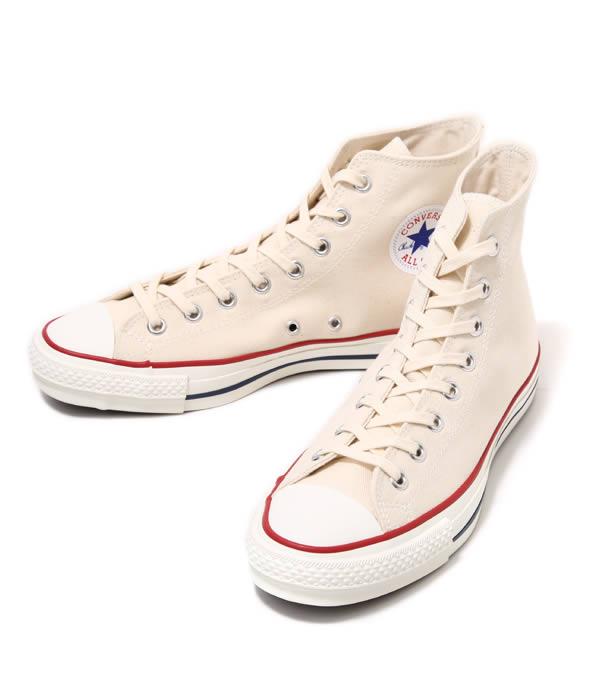 CONVERSE / コンバース : CANVAS ALL STAR J HI -ホワイト- : オールスター メイドインジャパン スニーカー シューズ 靴 : 32068430【AST】【WIS】