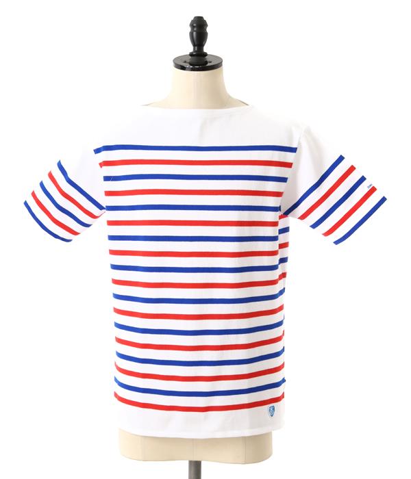 ORCIVAL / オーシバル : French Sailor S/S T-Shirt (REGULAR) : Tシャツ ボーダー 半袖カットソー : RC-6102-WBR【STD】