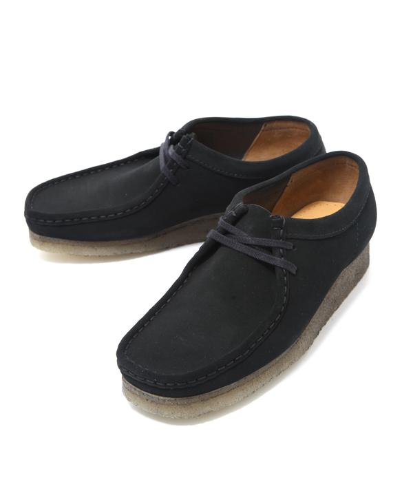 Clarks / クラークス : WALLABEE -BLK SUEDE-(ウィーバー ブーツ レザー シューズ 靴 クラークス)26103948【STD】