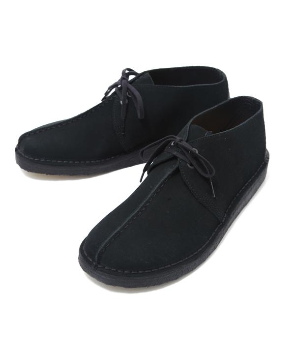 Clarks / クラークス : DESERT TREK -BLK SUEDE- : デザート ブーツ レザー シューズ 靴 クラークス : 26113258【STD】