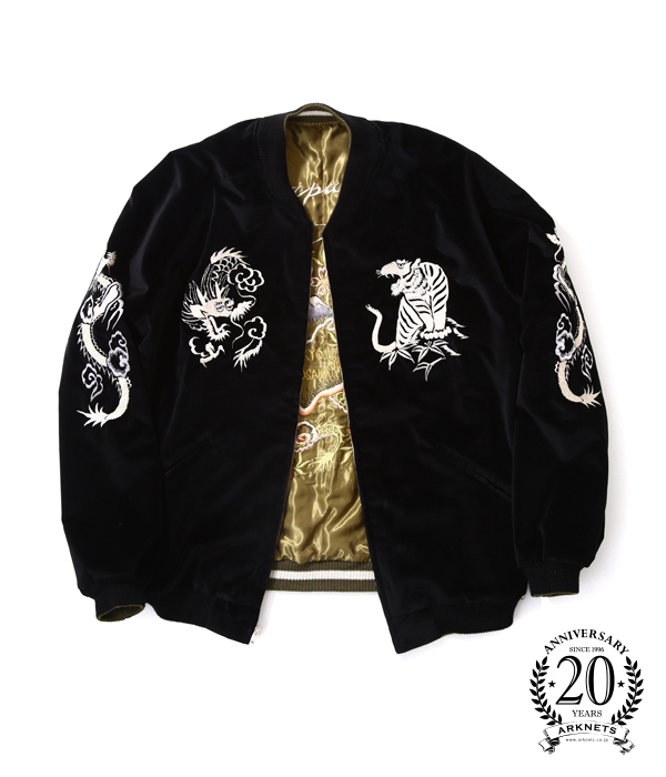 "TAILOR TOYO [테일러 동양] / TAILOR TOYO×GOLD×ARK STANDARD""Triple Collaboration 1940 s Style Souvenir Jacket""(별주스카잘스베니아쟈켓트) TT13764SD"