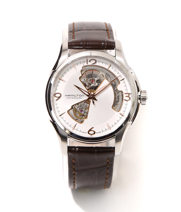 HAMILTON / ハミルトン : ジャズマスター オープンハート : 腕時計 紳士用腕時計 高級腕時計 fathersday : H32565555【MUS】