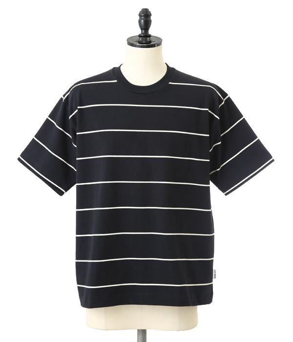 【アウトレットキャンペーン!】GOLDEN GOOSE / ゴールデングース : T-SHIRT -BLACK/WHITE STRIPES- : ゴールデングース Tシャツ 半袖 カットソー : G30MP533-D1【RIP】