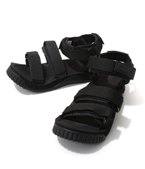 SHAKA / シャカ : 【メンズ】NEO BUNGY MILITARY / 全2色 (25cm~28cm) : ネオバンジー ミリタリー シャカ サンダル スポーツサンダル シューズ 靴 ベルクロ スポサン アウトドア フェス 旅行 : 433019 【STD】