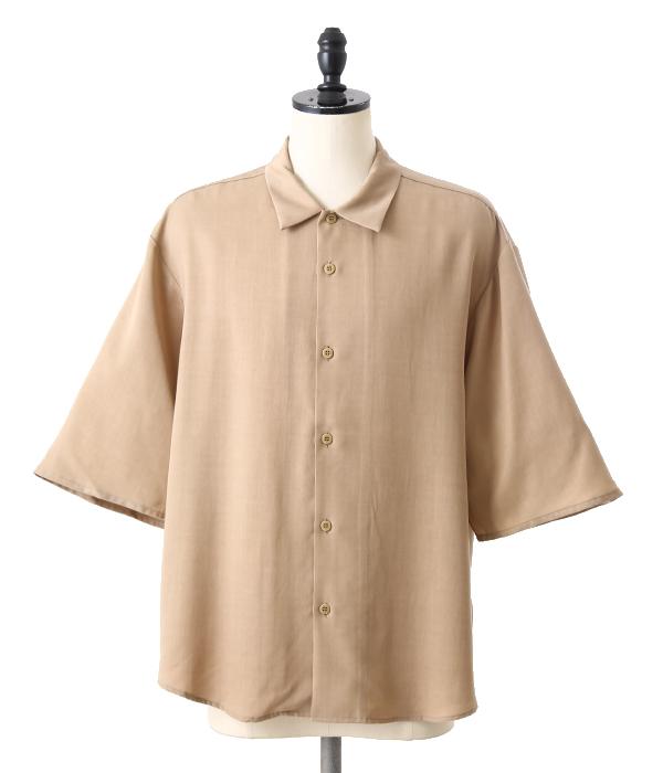 VOTE MAKE NEW CLOTHES / ヴォート メイク ニュークローズ : SDM S/S SHIRTS : エスディーエム ショートスリーブ ドロップショルダー ビッグシャツ ワイドシャツ 17SS 17春夏 : 17SS-0023【WAX】