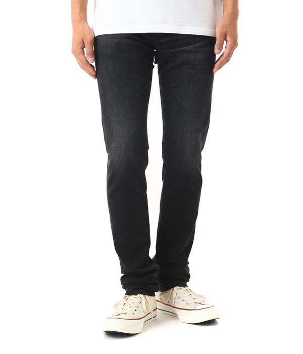 AG jeans / AGジーンズ AGデニム : TELLIS -4 YEARS DOWN- : デニムパンツ テリス ボトム ジーンズ : AG1783LBK 【PIE】