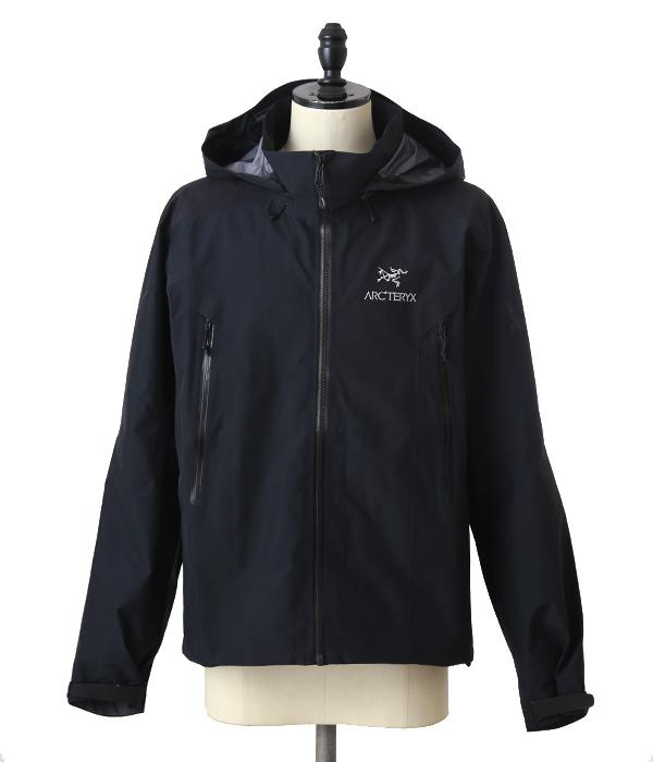 ARC'TERYX / アークテリクス : 【メンズ】Beta AR Jacket Men's REGULAR FIT -Black- (XS~Oサイズ) : ジャケット ベータar メンズ レギュラーフィット アウトドア アウター ブルゾン 軽量 耐久 耐水性 フェス ハイキング : L06103400 【STD】
