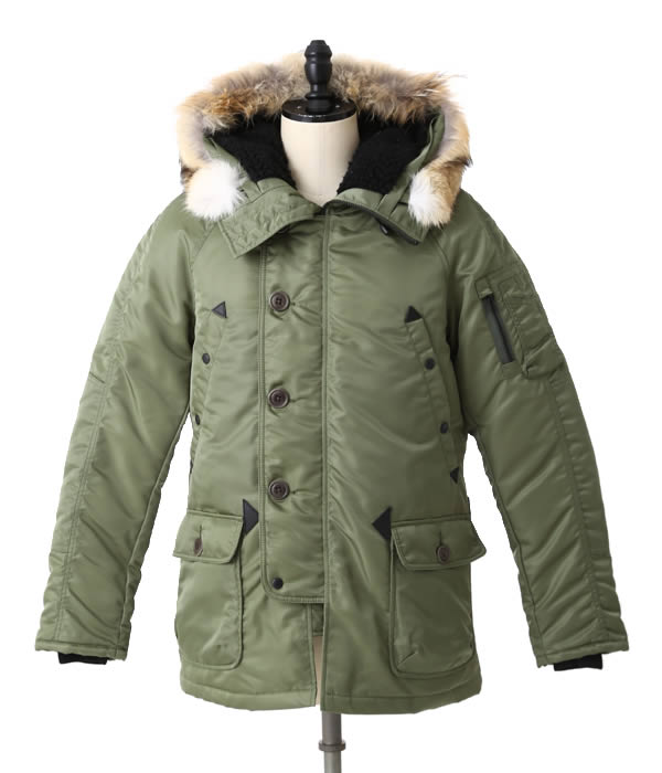 N 3b parka with down