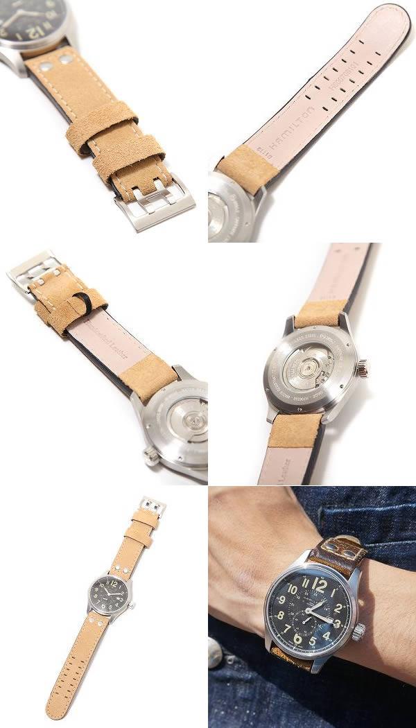 HAMILTON (해밀턴)/카키색 책임자 자동 (시계 패션 시계) H70655733