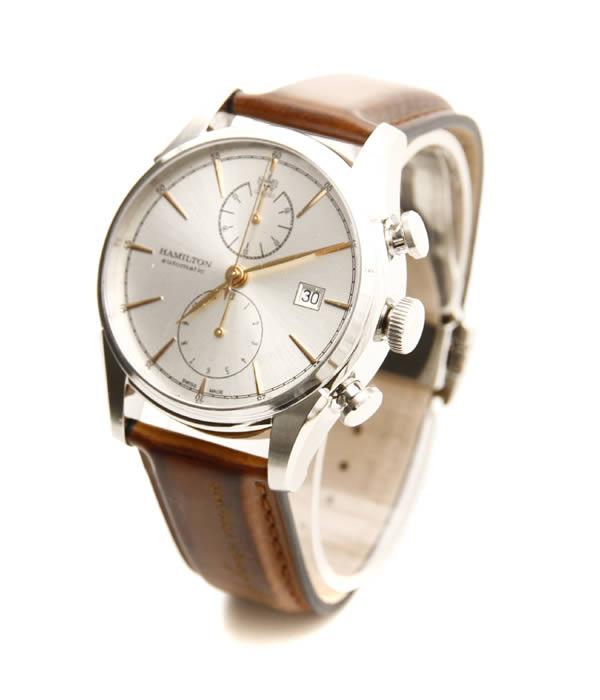 HAMILTON / ハミルトン : スピリット・オブ・リバティ -ブラウンカーフ- : 時計 腕時計 ウォッチ : H32416581 【MUS】