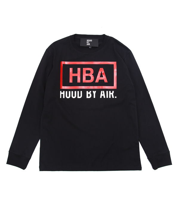 【予約】 終了間際!【期間限定送料無料!】HOOD BY AIR. / フッド バイ エア : RAGE TSHIRT : 正規取扱 HBA ロング スリーブ ティーシャツ ロンT Tシャツ 長袖 カットソー : HMF5AB001001016 【WAX】, Wit@USA 79adf675