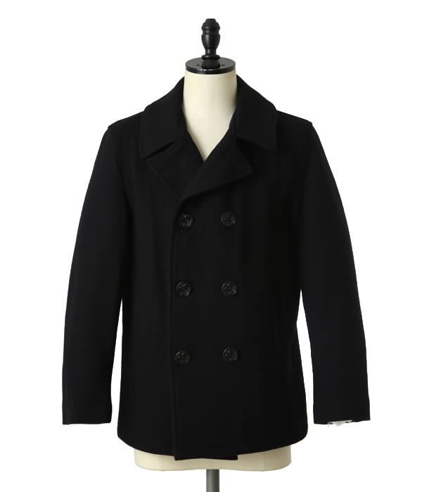 FIDELITY / フィデリティー : 22oz SHORT PEA COAT satin lining anchor button : ピーコート アウター : 22201-R-W【AST】