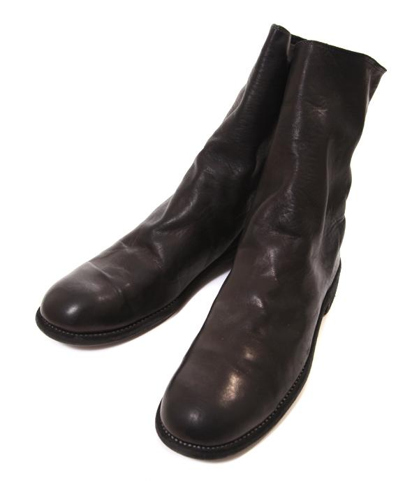 GUIDI / グイディ : 988 Horse Full Grain Backzip Boot : グイディ ブーツ バックジップ 革靴 レザー シューズ : 988-HORSFG-bjb【BJB】