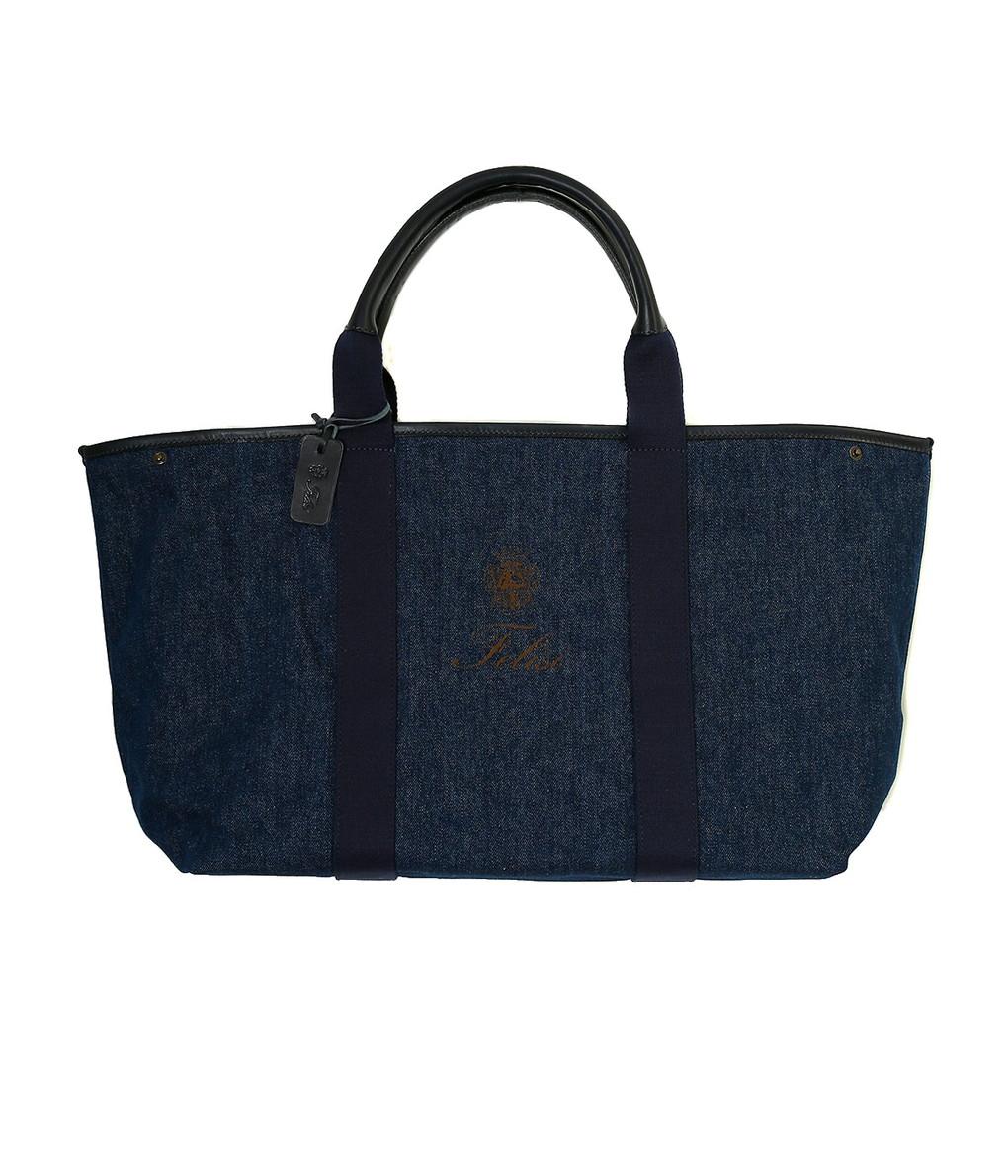 Felisi / フェリージ : TOTE BAG -DARK BLUE- : トートバッグ ハンドバッグ バック バッグ デニム :17-72-DWA-003-bjb 【BJB】