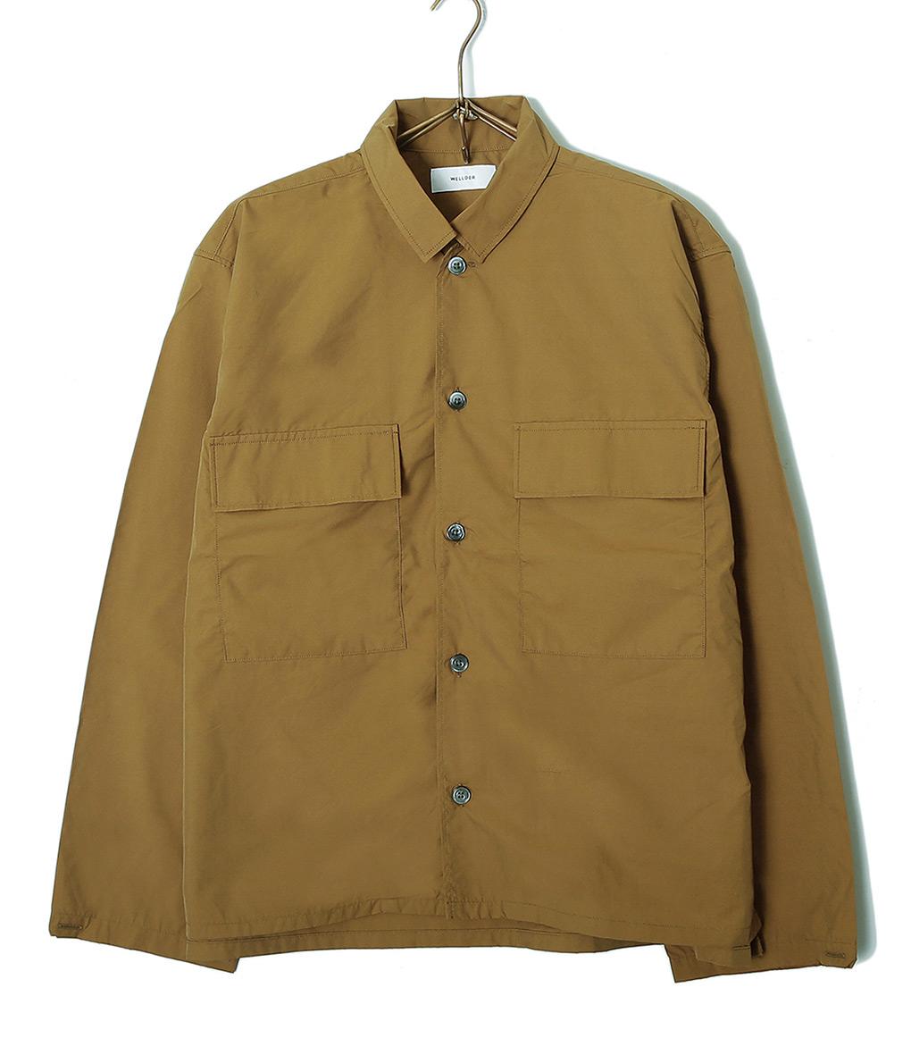 WELLDER / ウェルダー : Flap Pocket Shirt / : ウェルダー フラップ ポケット シャツ : WM19SSH05-bjb 【BJB】