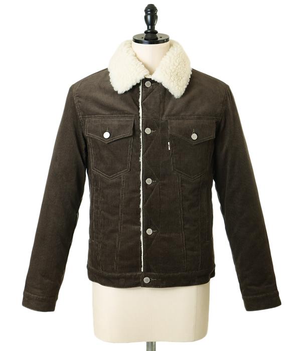 MAISON KITSUNE [mezonkitsune] / CORDUROY TRUCKER JACKET (meson Kitsune corduroy to lacquer jacket blouson outer) KML1651-bjb