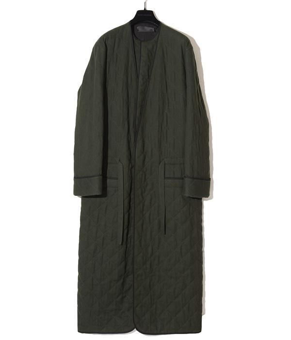 【SPECIAL PRICE!】HAIDER ACKERMANN / ハイダーアッカーマン : Coat : コート ロング キルティング ウール アウター : 439-30501003-bjb 【BJB】