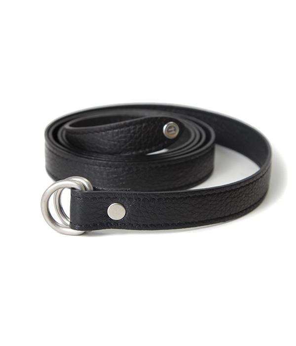 【期間限定送料無料!】Maison Margiela / メゾン マルジェラ : 【メンズ】Leather Narrow belt (マルジェラ レザーベルト) S55TP0102-bjb【BJB】