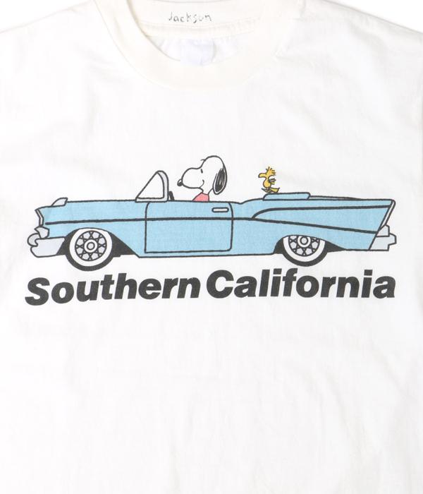 JACKSON MATISSE (잭슨 마티즈) Snoopy Southern California Tee(캐릭터 티셔츠 T셔츠) JM16AW024-re