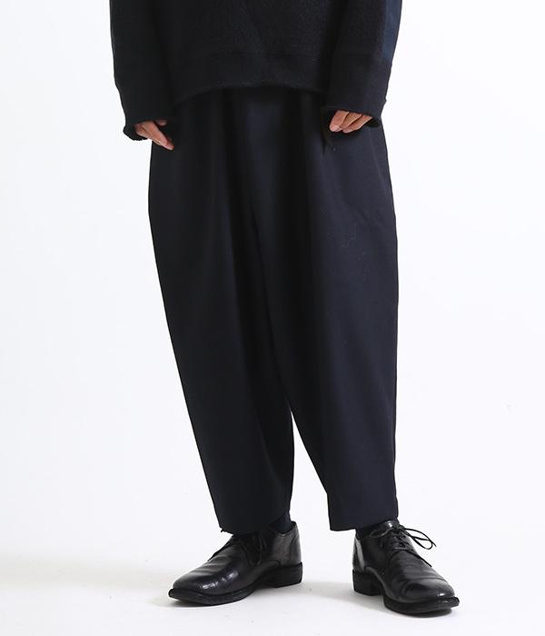 ■【予約商品 2018年11~12月入荷予定】marka / マーカ : WRAP PANTS : ラップパンツ ワイドパンツ タイパンツ : M18D-06PT01C 【COR】