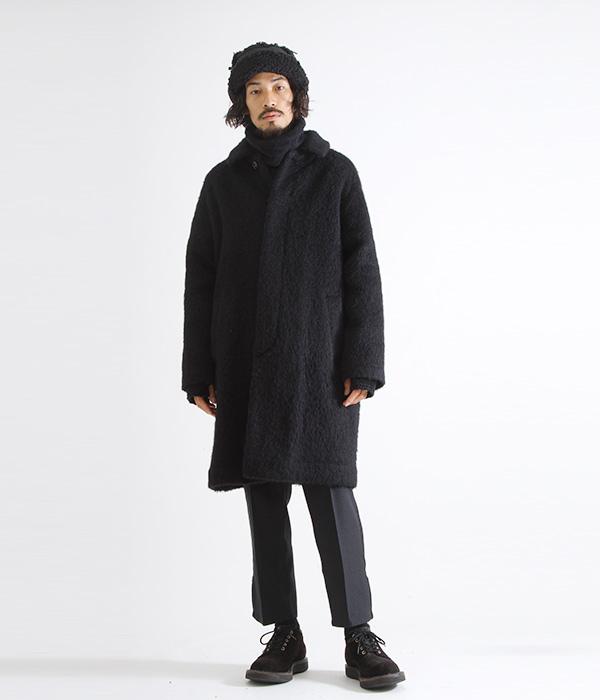 marka / マーカ : BAL COLLAR COAT - shaggy - : バルカラーコート バルカラー コート アルパカコート : M18D-02CO02C 【COR】