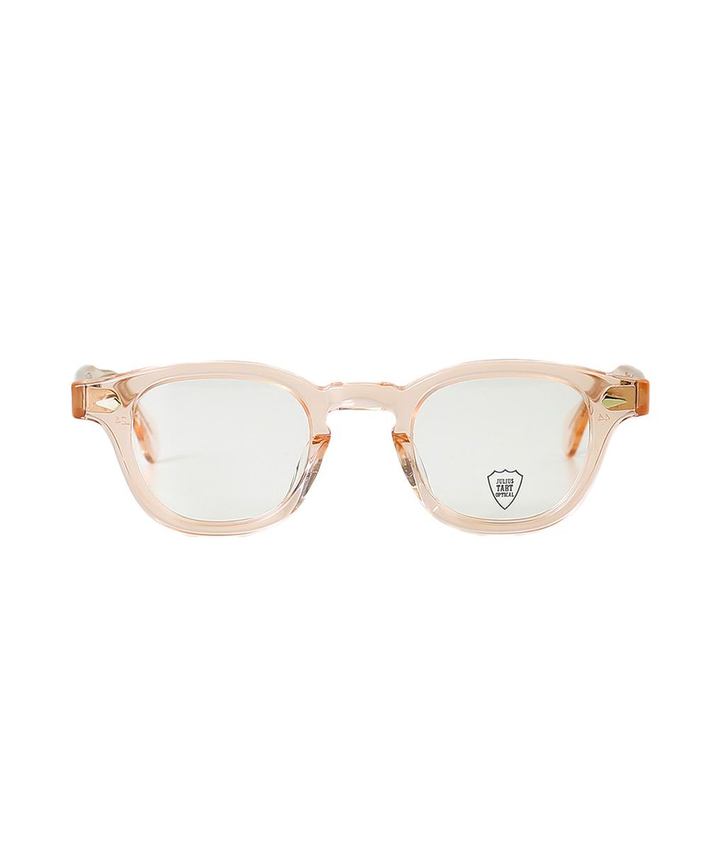 JULIUS TART OPTICAL / ジュリアスタートオプティカル : AR 44 46-24 - FRESH PINK / CLEAR - : サングラス アクセサリー メガネ 眼鏡 : JTPL-101H-2H-wise【WIS】